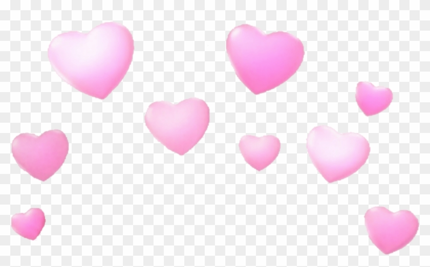 Transparent Snapchat Heart Filter, HD Png Download.