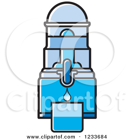 Clipart of a Gray Water Filter.