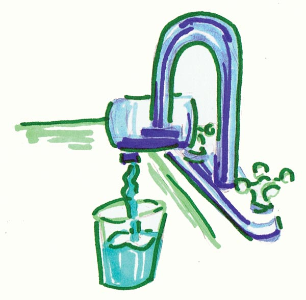 Water filtering clipart.