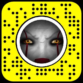 Creepy Clown Snapchat Lens & Filter.