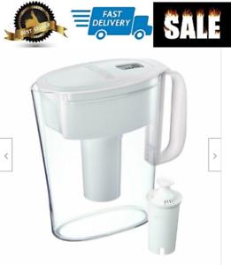 Details about NEW Filtro De Agua Jarra,Pichel 5 Tazas Con Filtro Avanzado  Purificador Potable.