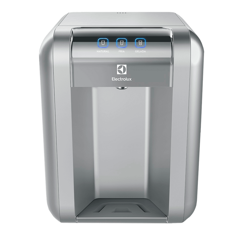 Purificador de Água Prata com Painel Touch Bivolt (PE11X).