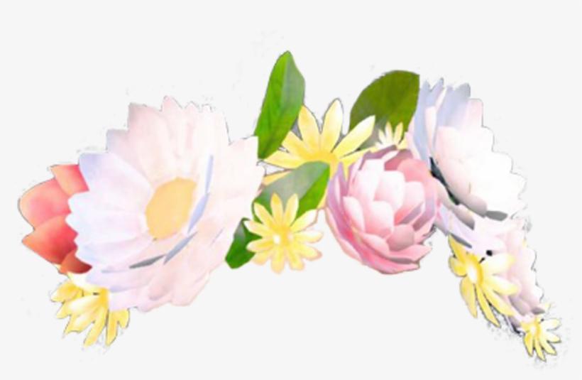 Flower Crown Filter Transpa Flowercrown Snapchat.