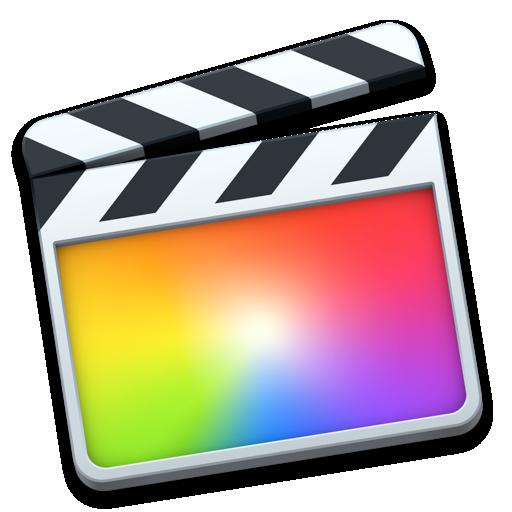 Final Cut Pro Mac Icon.