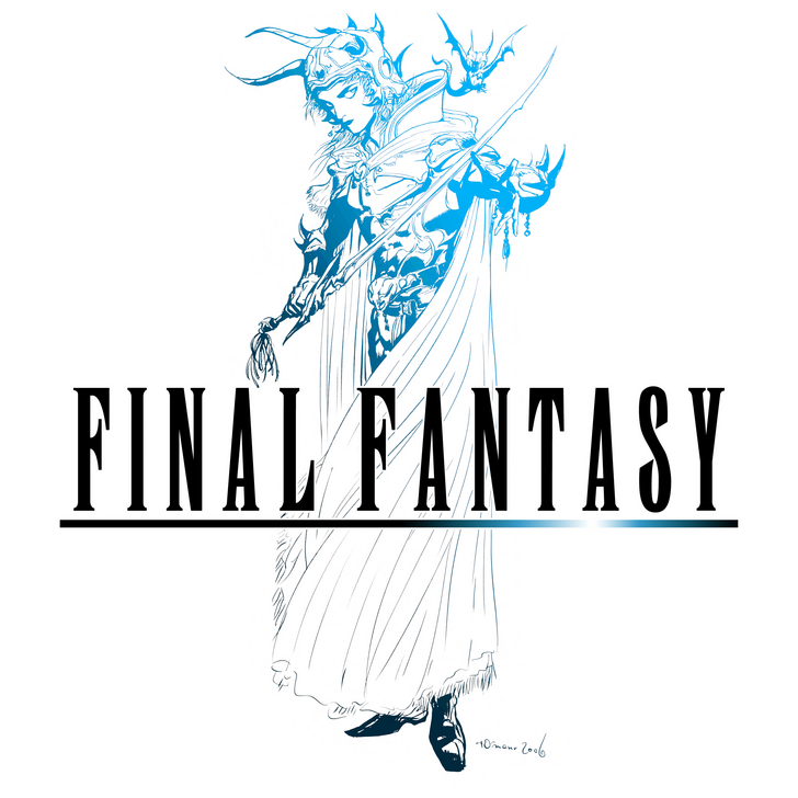 Final Fantasy 1 Logo (high resolution).