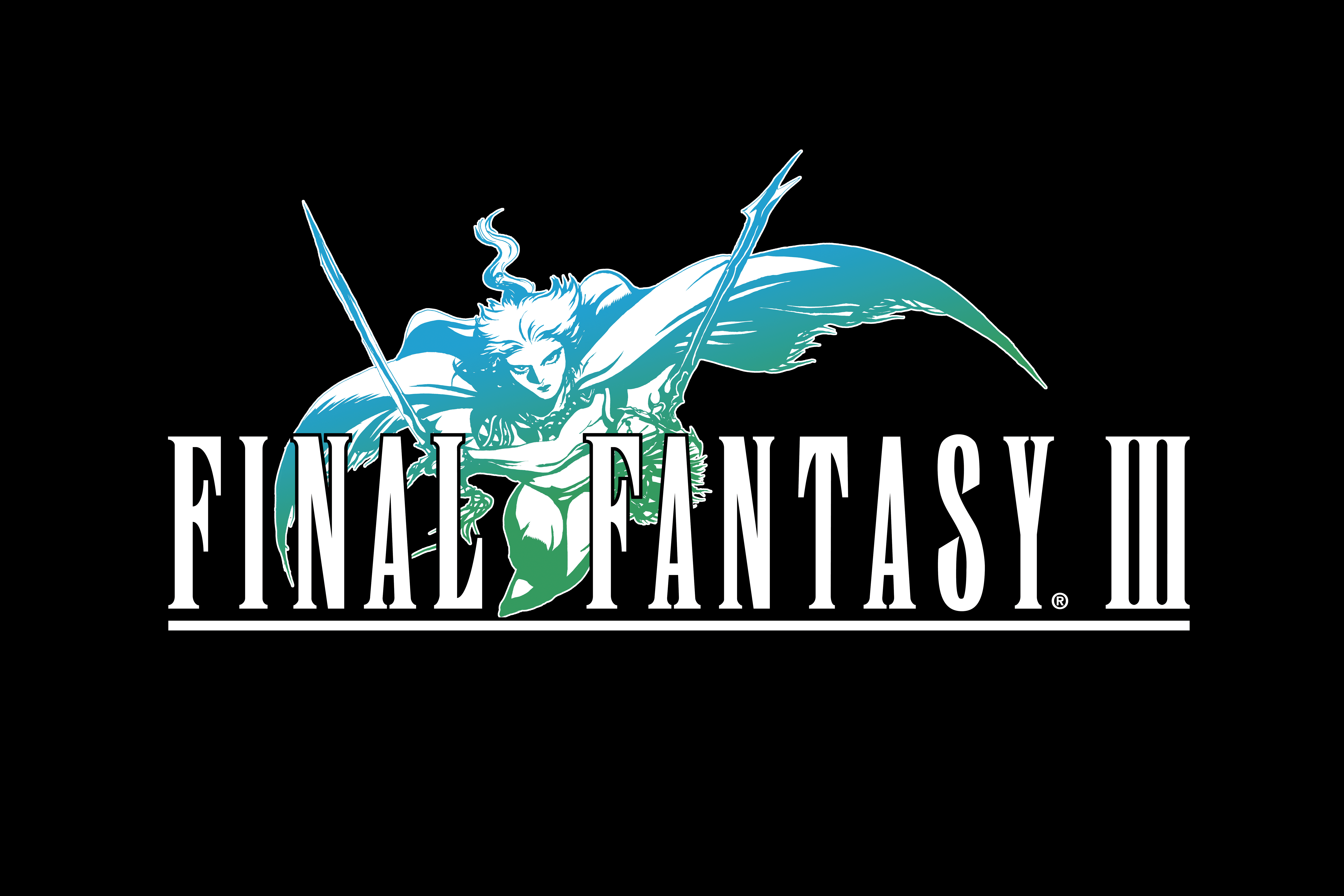 Final Fantasy III (2012) promotional art.