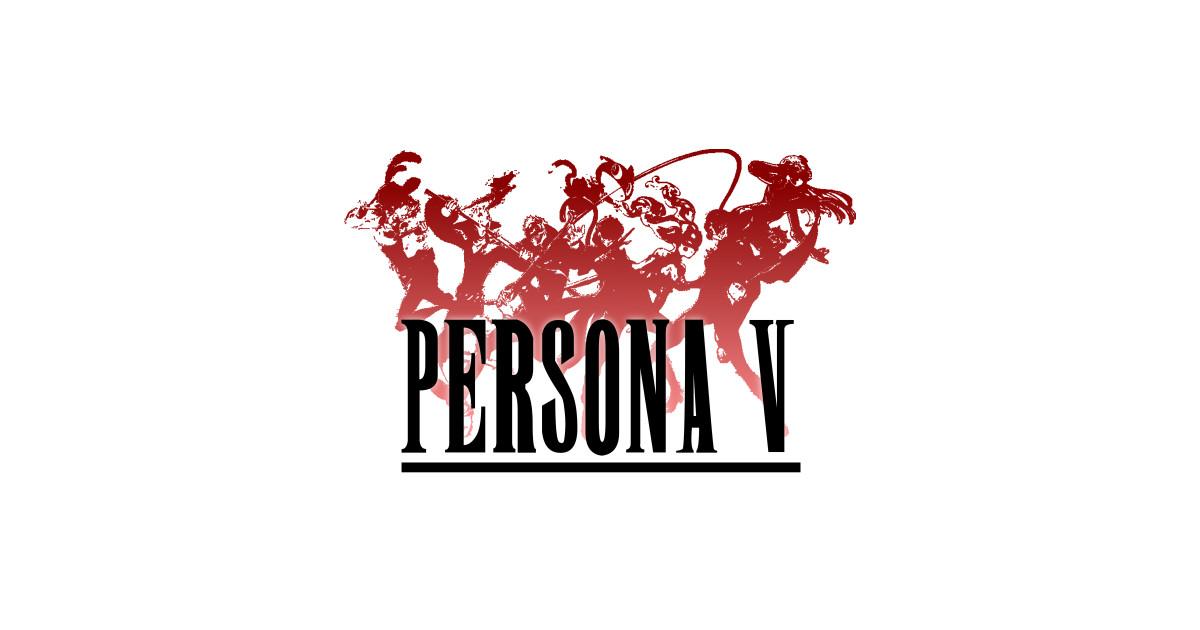 Persona 5 Final Fantasy Crossover Logo by brotherofperl.