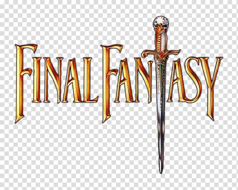 LOGO Final Fantasy NA transparent background PNG clipart.