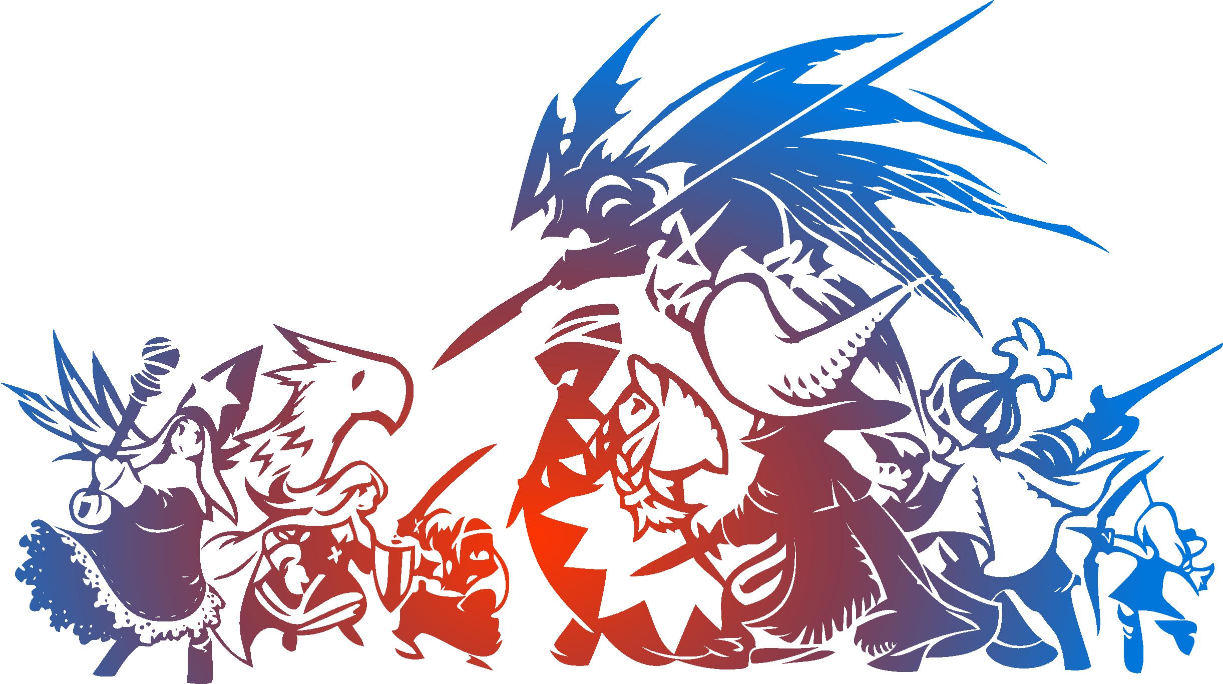 Final Fantasy Tactics logo.