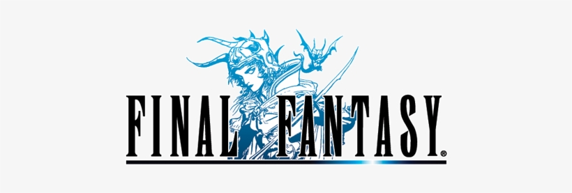 Download Free png Ff Logo 1 Final Fantasy 1 Logo Free Transparent.