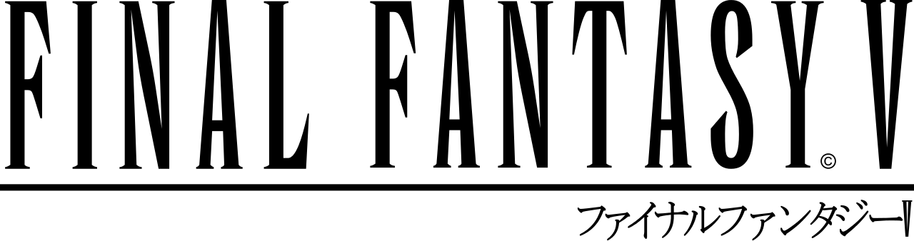 File:Final Fantasy V logo with japanese name.svg.