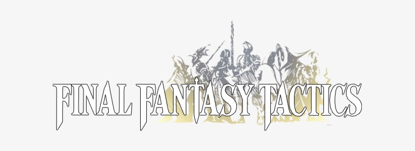 Final Fantasy Tactics Logo.