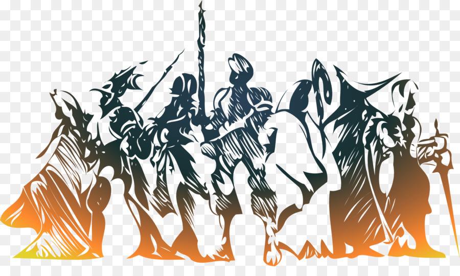 Final Fantasy Tactics Cartoon png download.