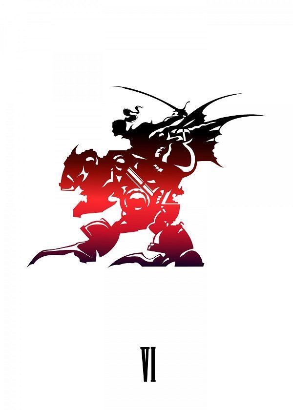 Final Fantasy VI Gaming Poster Print.
