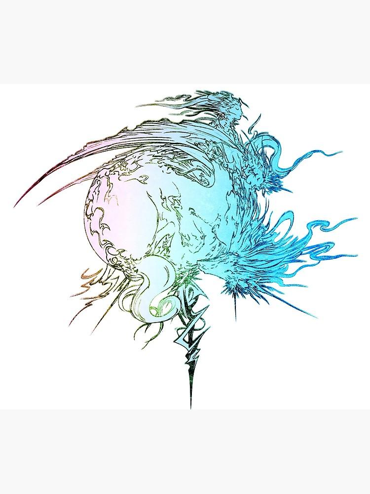 ° FINAL FANTASY ° Final Fantasy XIII Rainbow Logo.