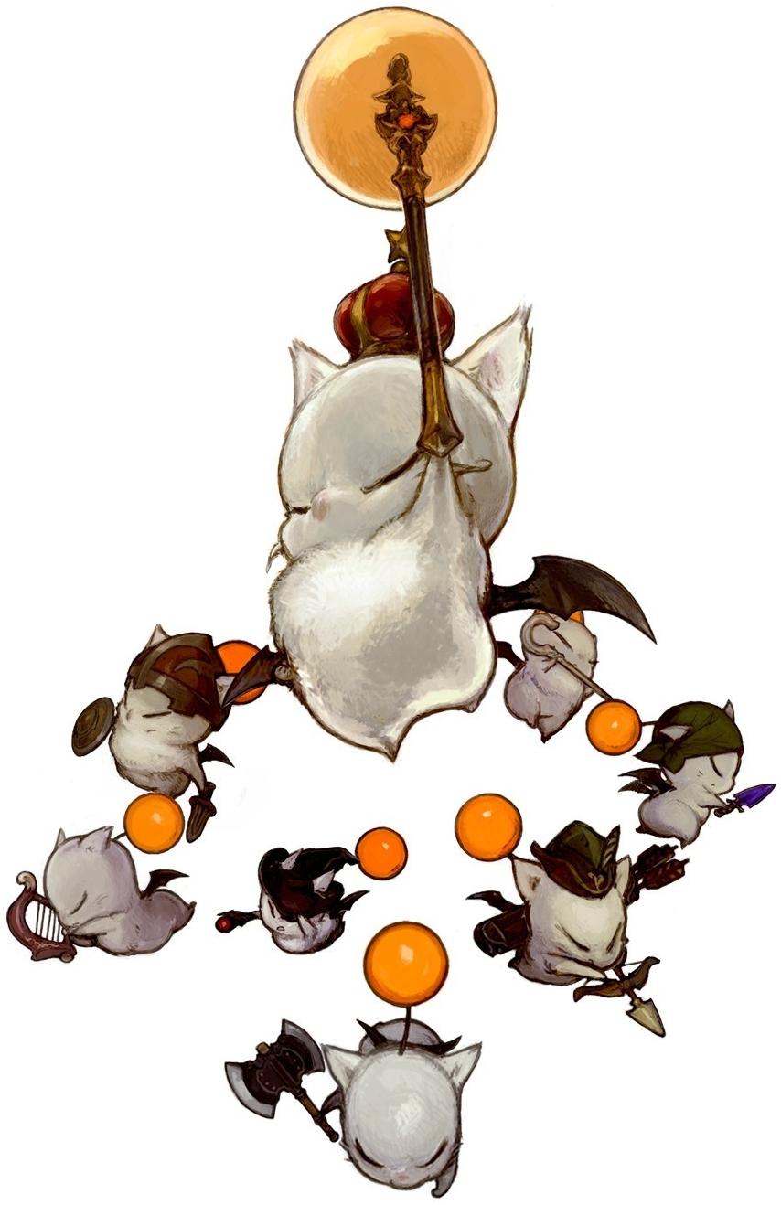 Final Fantasy 14 Clipart.