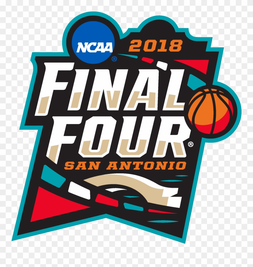 March Madness 2018 Final Four San Antonio Logo Vector.