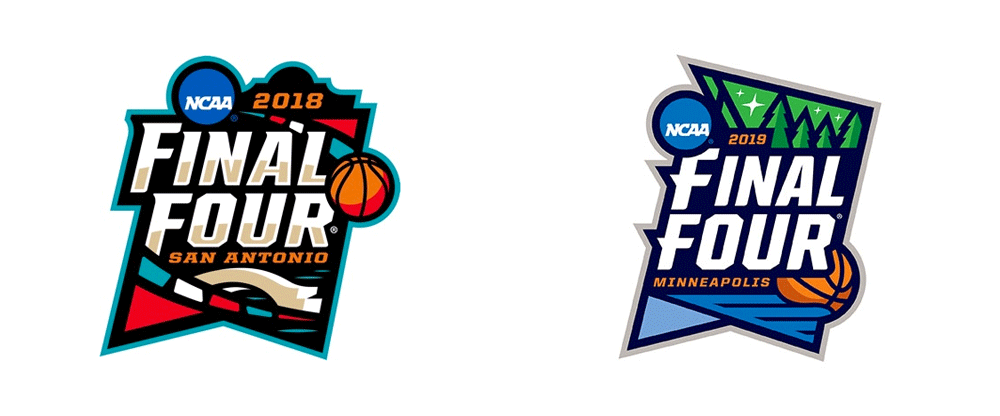 Brand New: New Logo for NCAA 2019 Final Four.