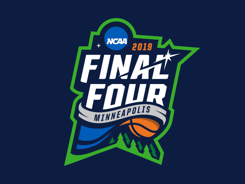 2019 NCAA Final Four Logo Concept by Josh Lee on Dribbble.