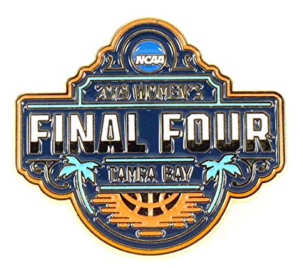 Amazon.com : Classic Pins 2019 Women\'s Final Four Logo Pin.