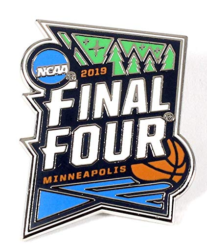 Basketball 2019 Men\'s Final Four Logo PIN NCAA Minneapolis Lapel PIN  Shipping Now!!!.