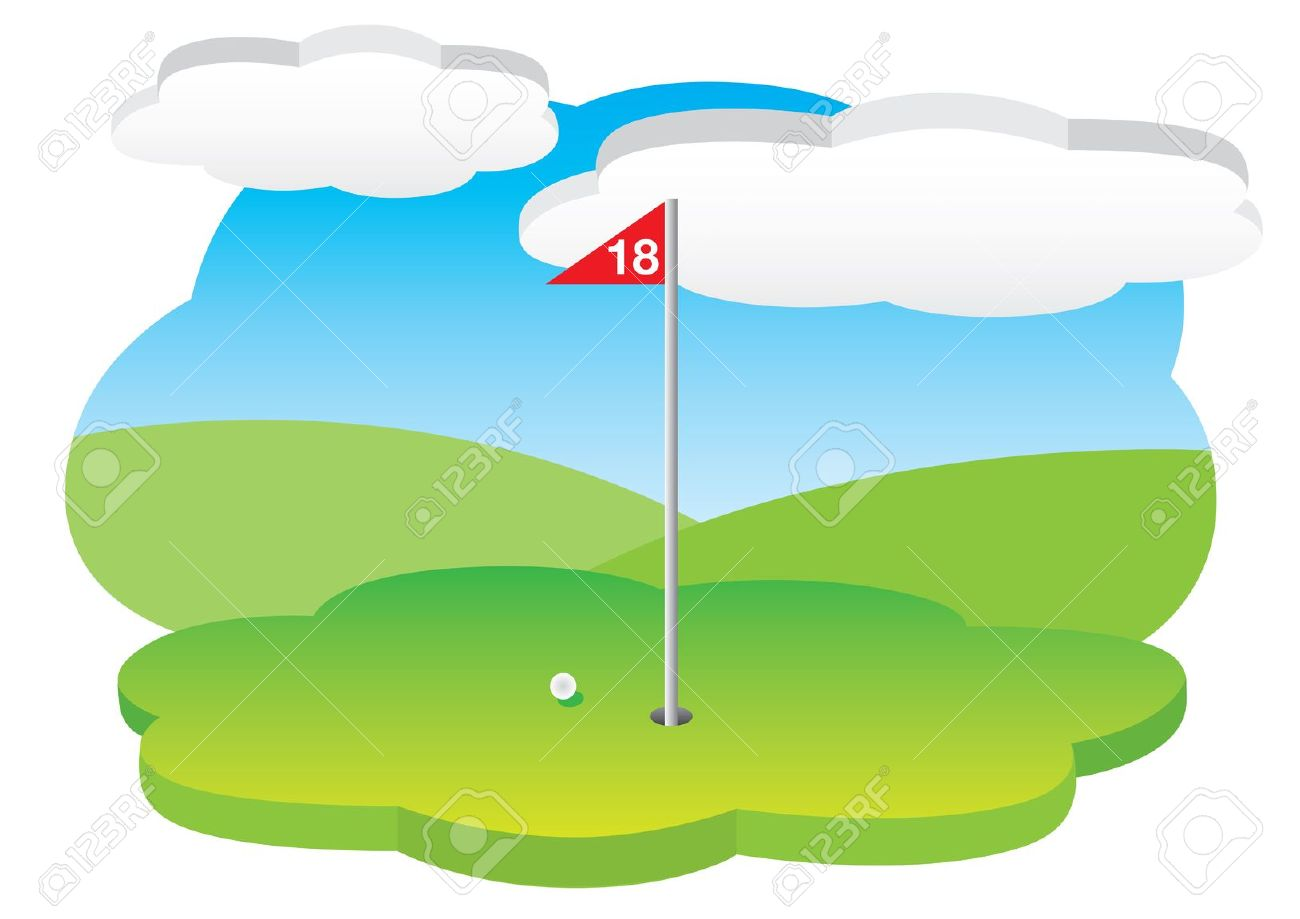 18th Hole Royalty Free Cliparts, Vectors, And Stock Illustration.