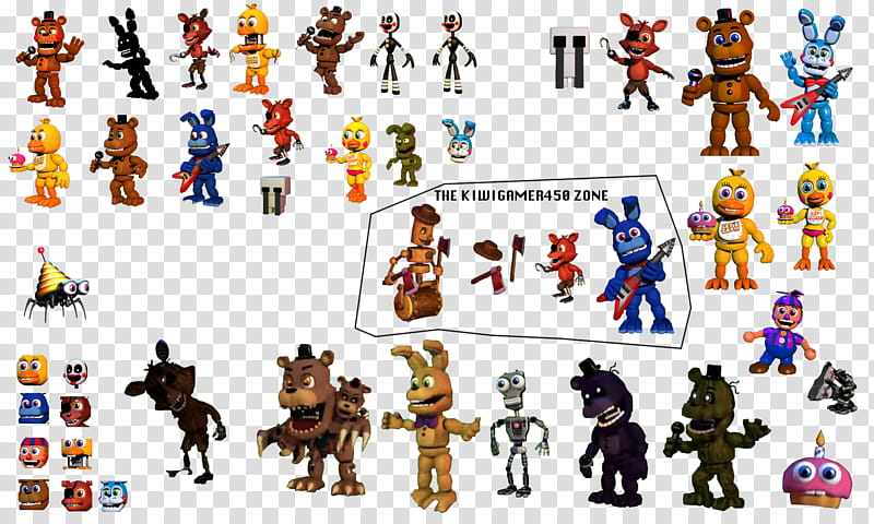 CHRISTMAS BOX GRAND FINALE FNAF World Resources, cartoon.