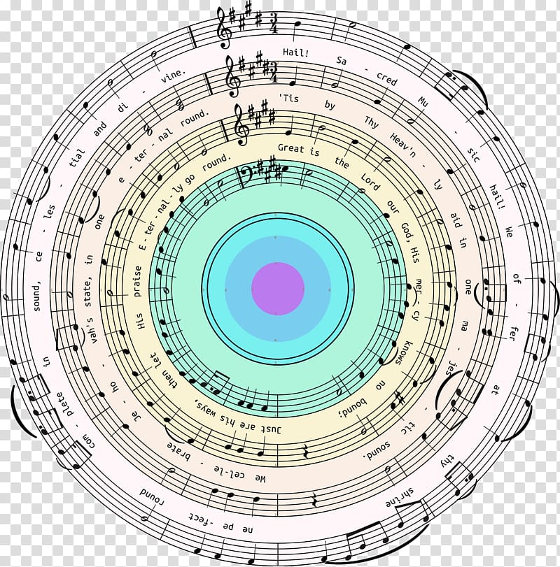 Music Finale Staff, target transparent background PNG.