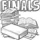 Final Exam Clipart.