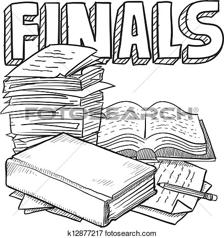 Finals Clipart.