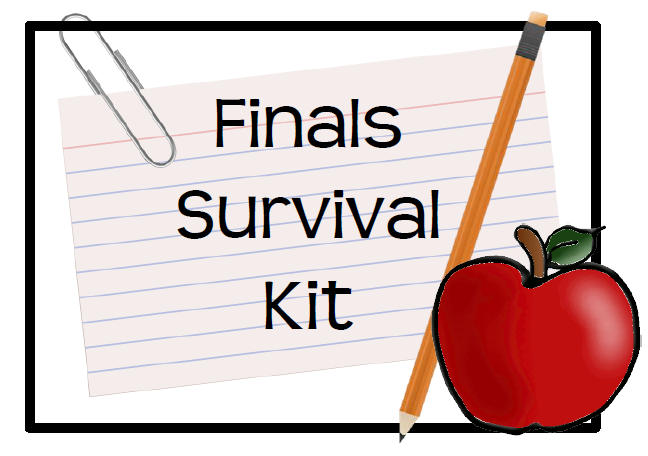 Finals Week Clipart.