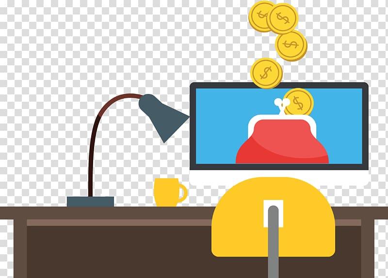 Bank Finance Illustration, Online Banking Financial Companies.