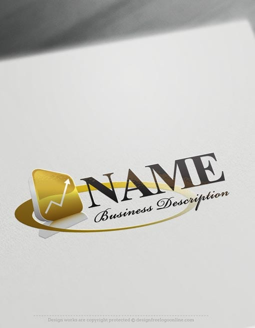 Finance Online Logo Template.