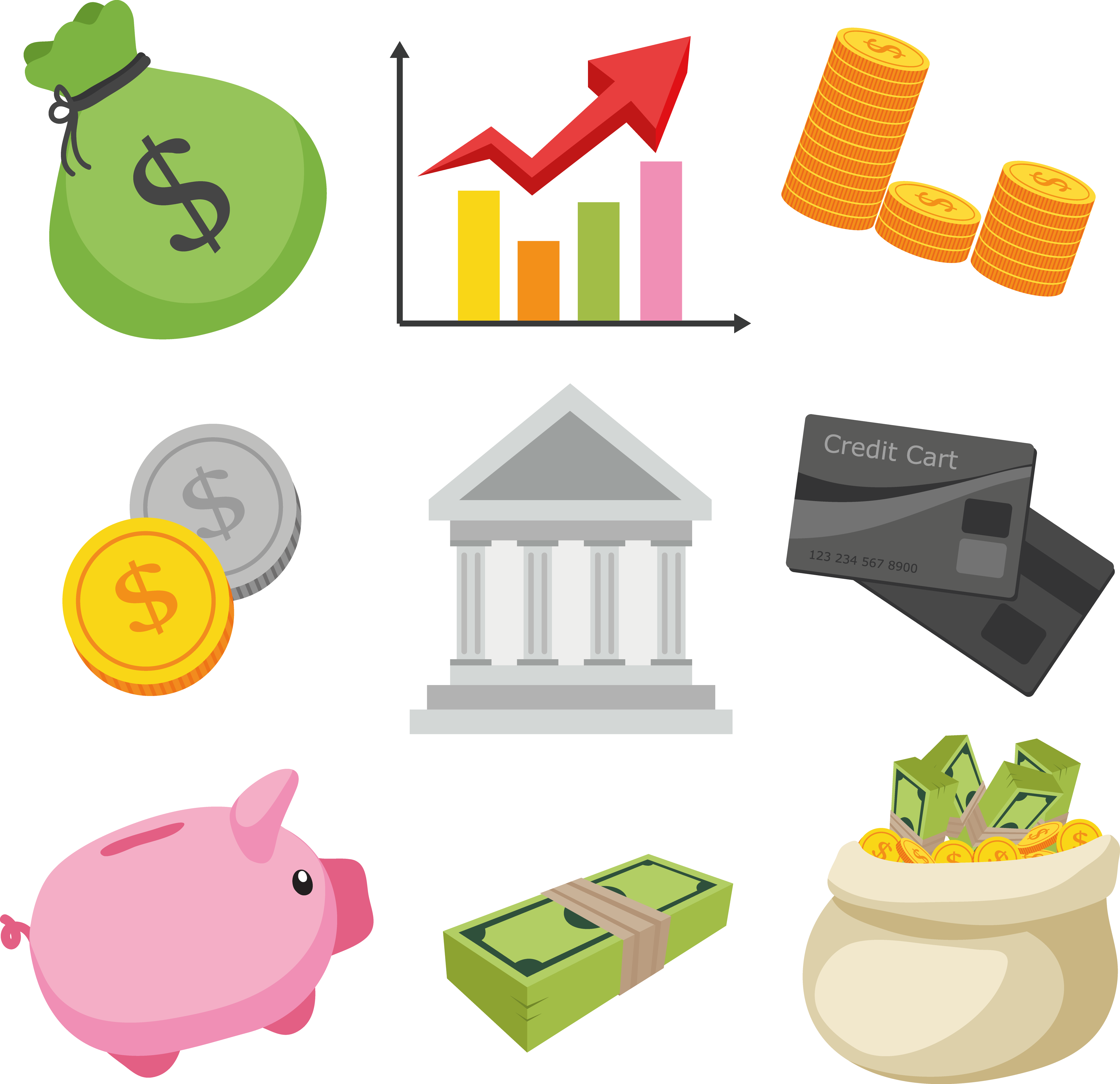 Finance clipart financial security, Finance financial.