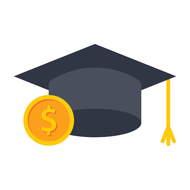Best College Financial Aid Illustrations, Royalty.