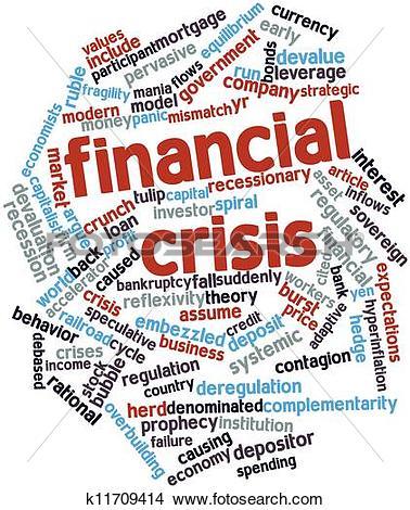 Drawings of Financial crisis k11709414.