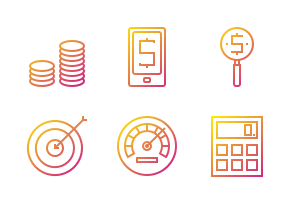 Business & finance icons.