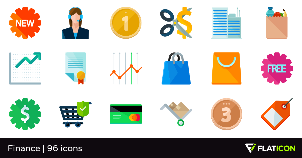 Finance 96 free icons (SVG, EPS, PSD, PNG files).