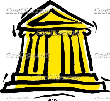 financial institution Vector Clip art.