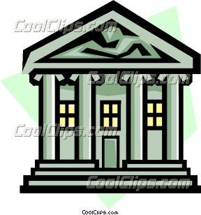 Banking symbol Clip Art.
