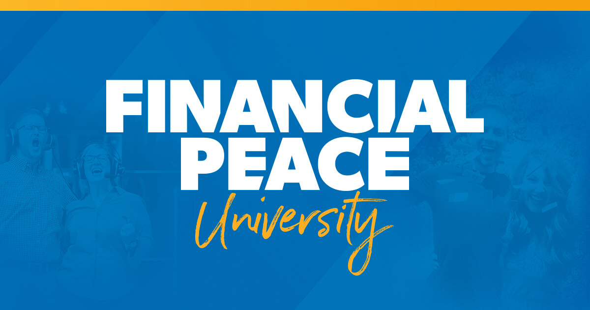 Financial Peace University: Manage Your Money Wisely.