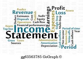 Financial Statements Clip Art.