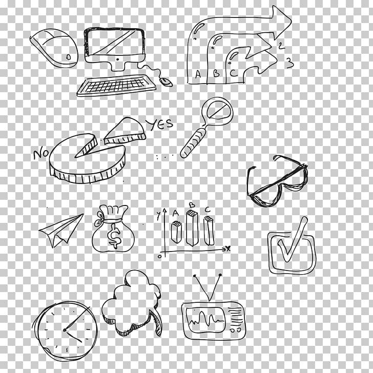 Drawing Symbol Finance , sketch financial symbols PNG.