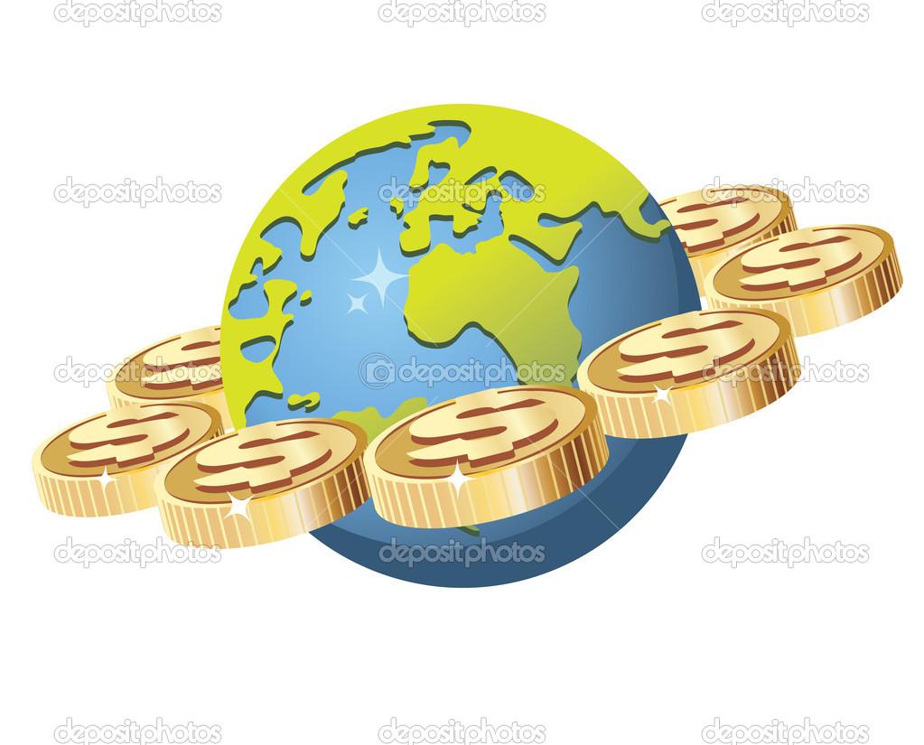 Financial world — Stock Vector © AnnaDrozd #3189267.