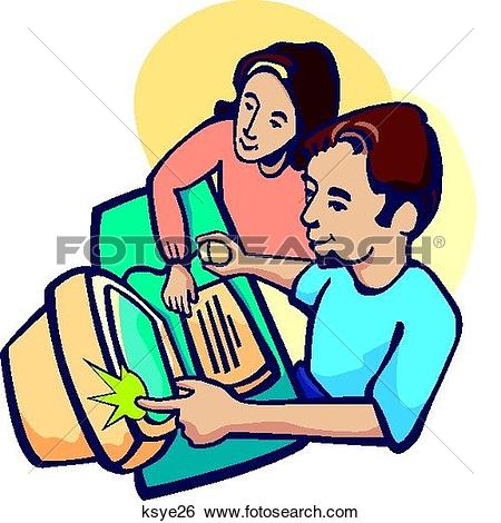 Stock Illustration of Cooperation ksye26.
