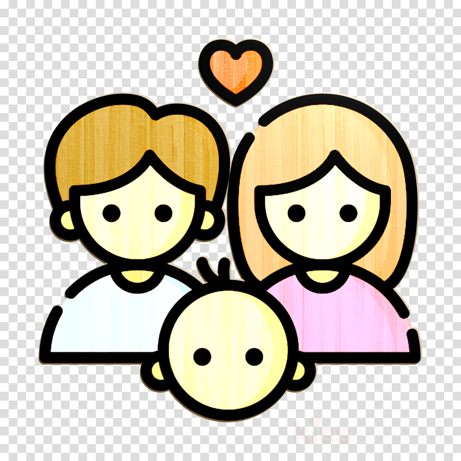 Child icon Happiness icon Family icon clipart.