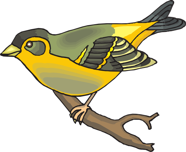 Goldfinch clipart - Clipground