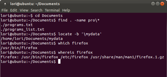 How to Find Files and Folders in Linux Using the Command Line.
