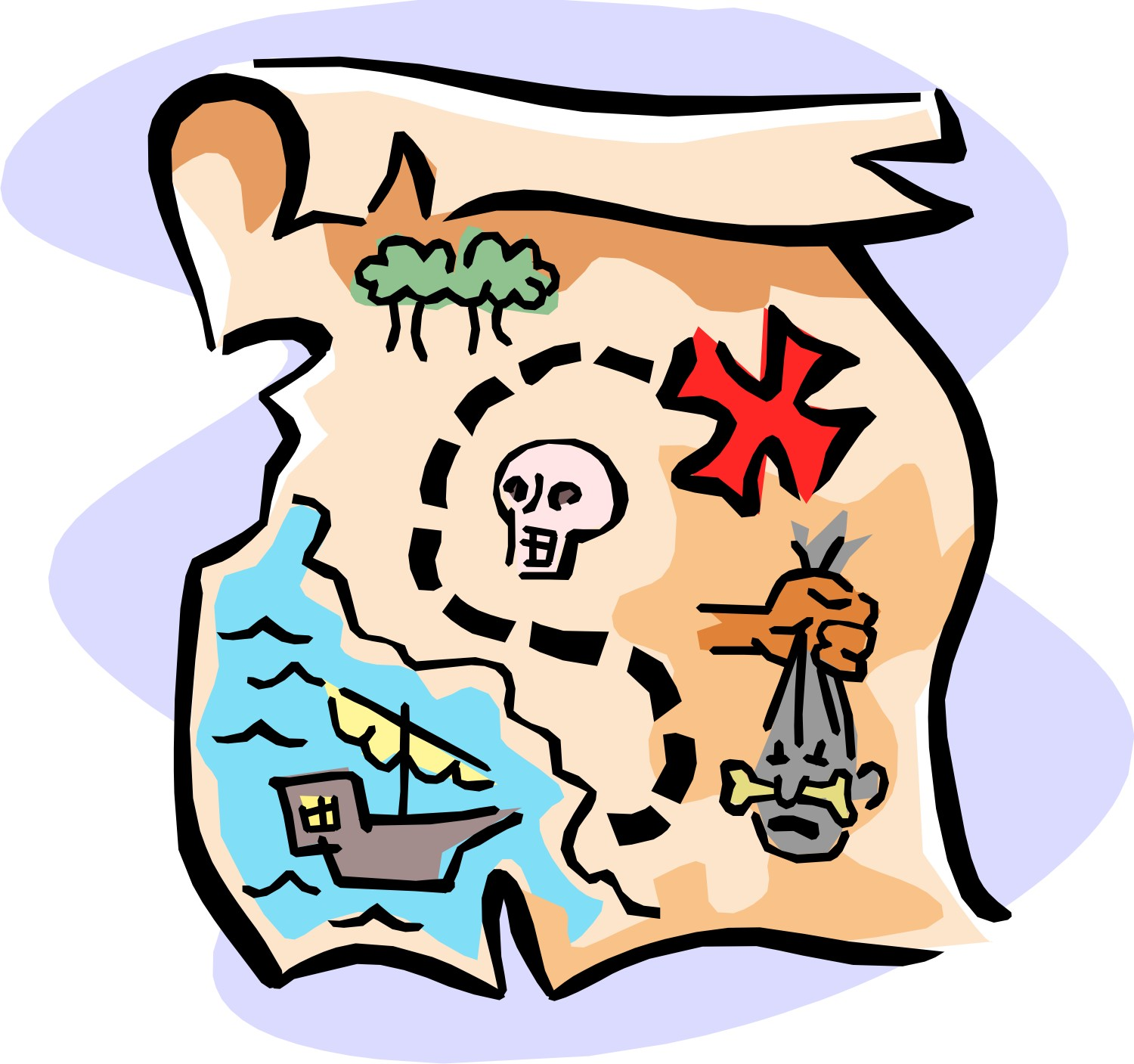 Find treasure clipart.