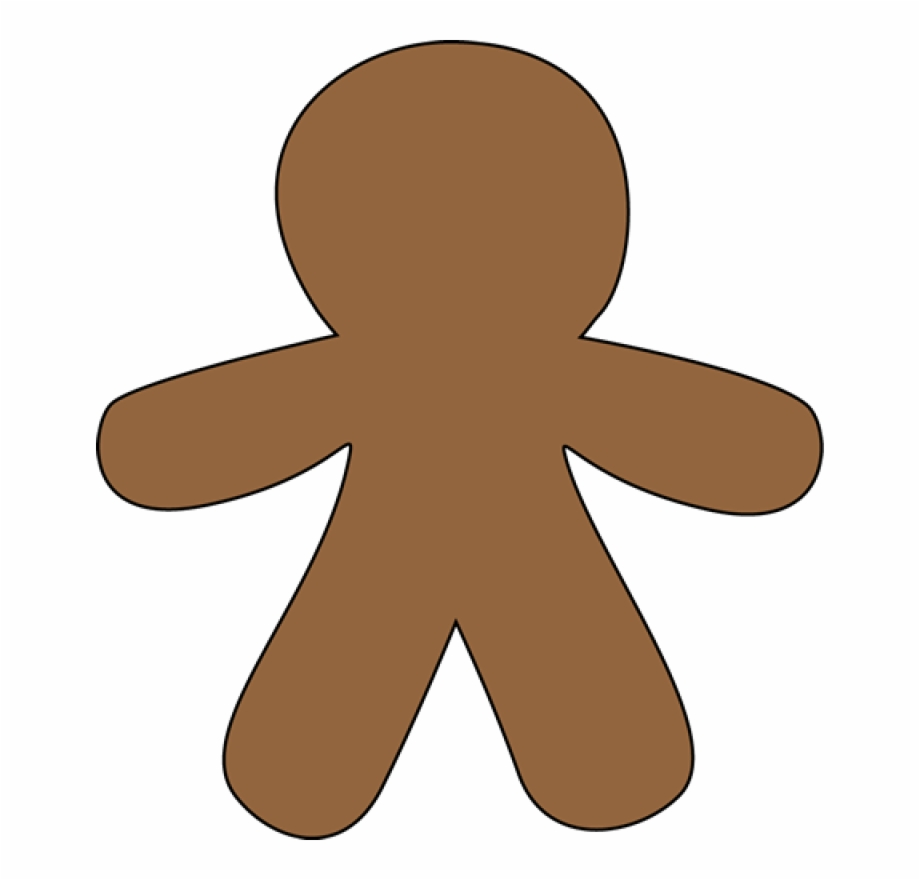 Gingerbread Man Clip Art Free Free Clipart Images.
